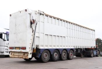 BMI 4 Aks. Ejector trailer 84 m3