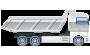 Vi bestræber os på altid at have et stort udvalg, af brugte lastbiler på lager.