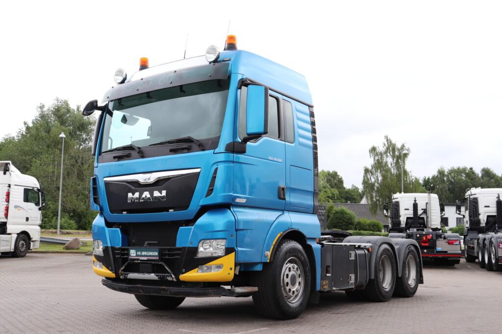 VK.34190 MAN TGX 26.560 BLS 6x4 m. Hydraulik