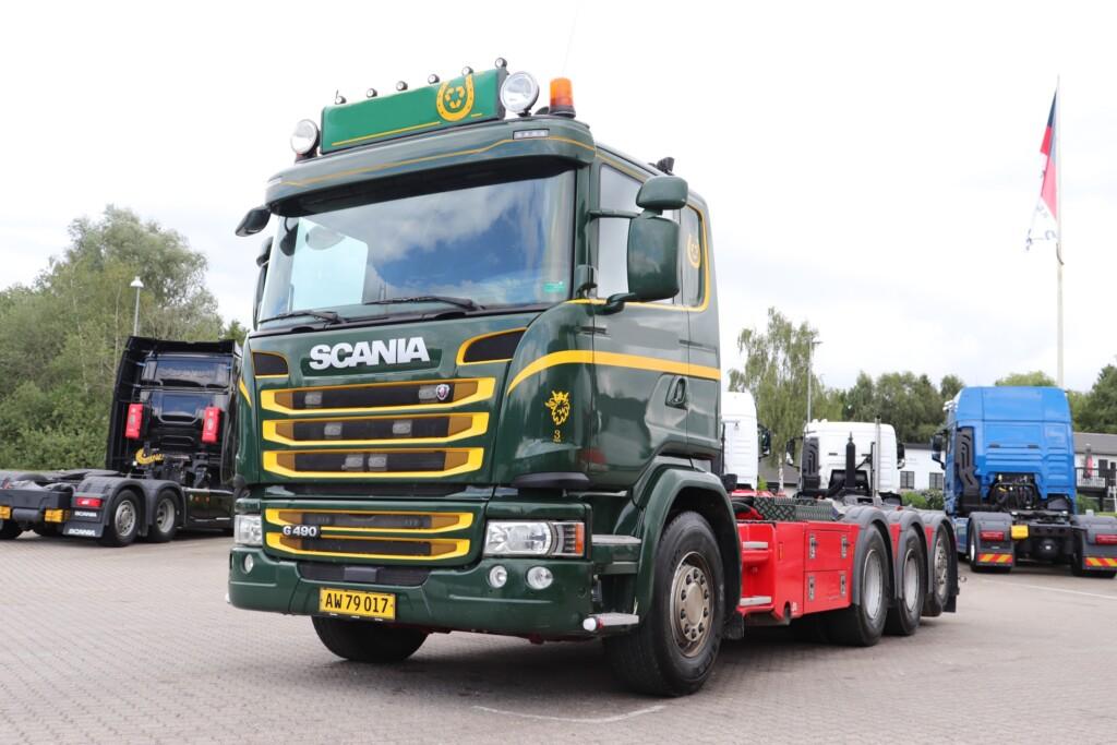 Komm. Scania G490 LB8x4*4 m. kroghejs