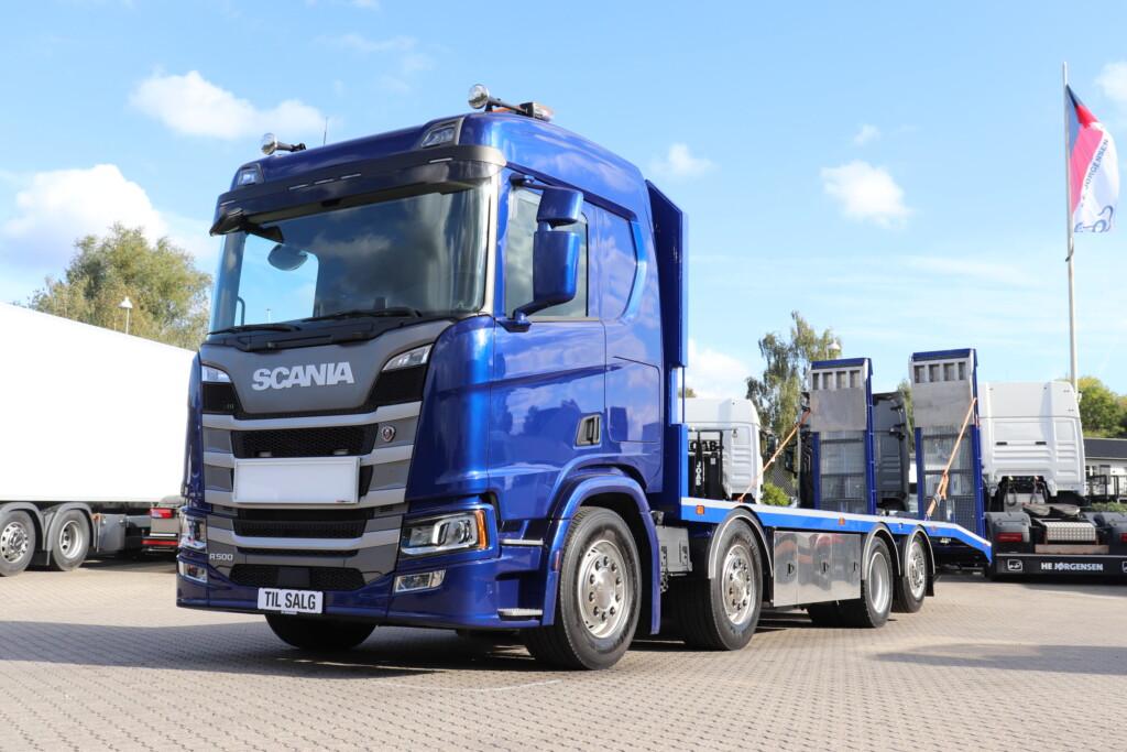 VK.34270 Scania R500 B8x2*6LB Fejeblad m. Hydrauliske ramper