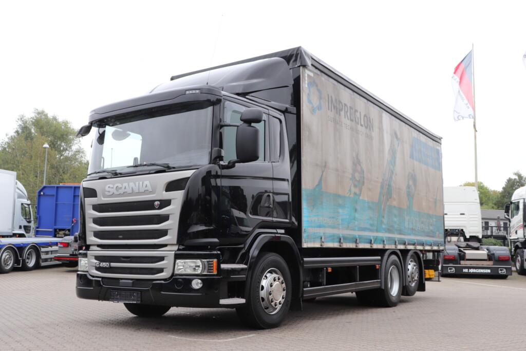 VK.34278 Scania G450 DB6x2*4MN m. Presenningslad (18-pallers)